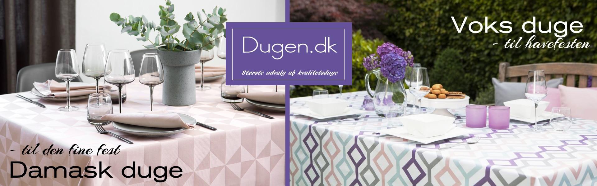 damask dug og voksdug - køb hos dugen.dk
